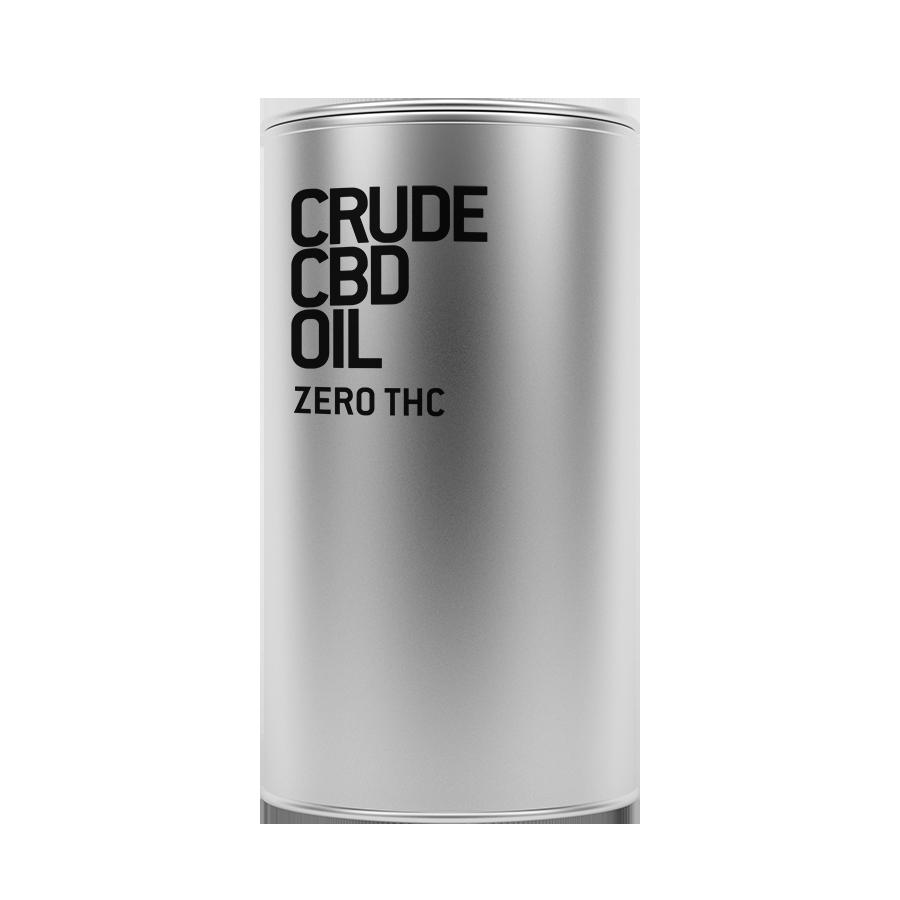 Crude CBDOil Zero THC